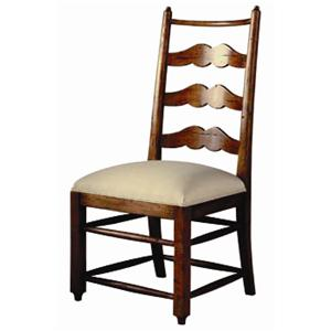 Guy Chaddock Melrose Custom Handmade Furniture Country English Ladderback Side Chair