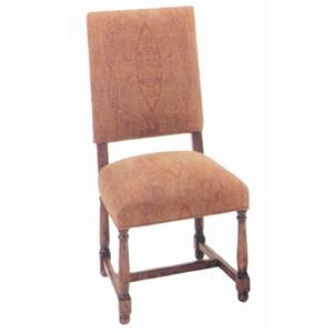 Guy Chaddock Melrose Custom Handmade Furniture Country English Side Chair