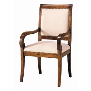Guy Chaddock Melrose Custom Handmade Furniture Country English High Back Chair