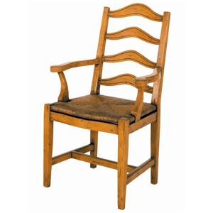 Guy Chaddock Melrose Custom Handmade Furniture Country English Ladderback Chair