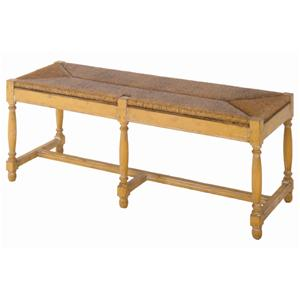 Guy Chaddock Melrose Custom Handmade Furniture Country English Bench