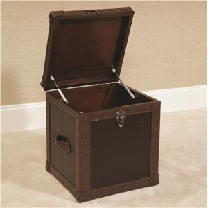 Hammary Hidden Treasures Trunk Cube