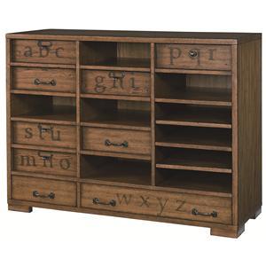 Hammary Hidden Treasures Printers Cabinet