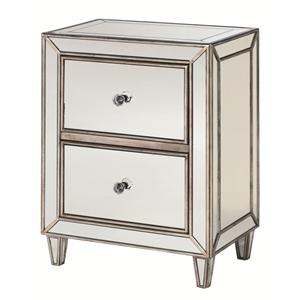 Hammary Hidden Treasures Mirror Drawer Chest