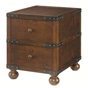 Hammary Hidden Treasures Trunk End Table