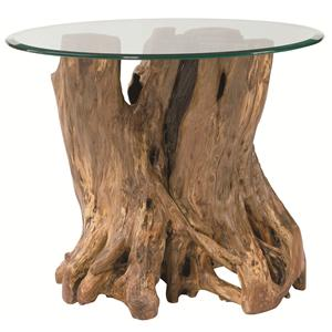 Hammary Hidden Treasures Root Ball End Table