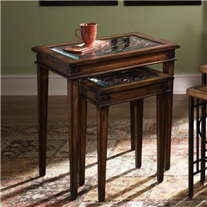 Hammary Hidden Treasures Nesting Tables