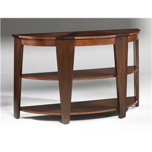 Hammary Oasis Demilune Sofa Table