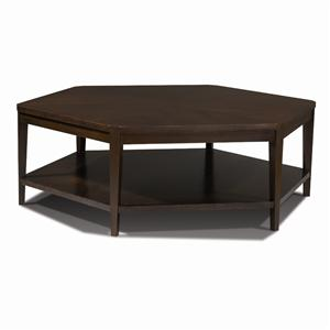 Harden Furniture Artistry Sabina Hexagonal Cocktail Table