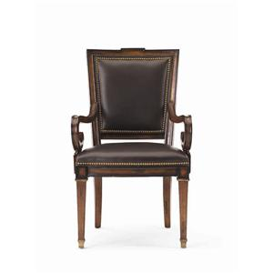 Hickory White Continental Classics Cross-Back Arm Chair