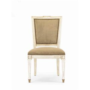 Hickory White Continental Classics Cross-Back Side Chair