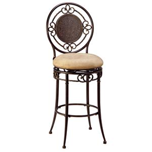 "Hillsdale Metal Stools 26"" Counter Height Richland Stool"
