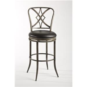 Hillsdale Metal Stools Jacqueline Counter Stool