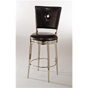 Hillsdale Metal Stools Montbrook Swivel Counter Stool