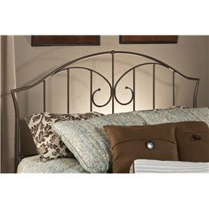 Hillsdale Metal Beds Zurick Full/ Queen Headboard