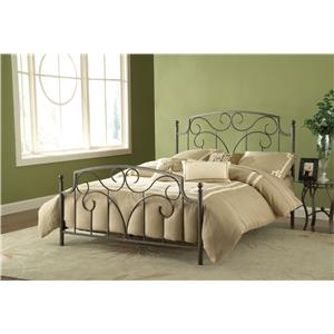 Hillsdale Metal Beds Cartwright Queen Bed Set