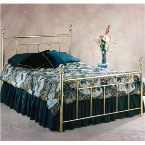 Hillsdale Metal Beds Queen Chelsea Bed