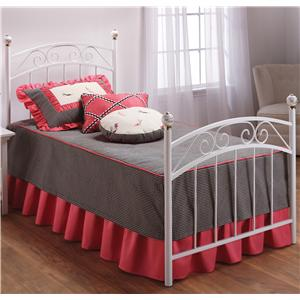 Hillsdale Metal Beds Twin Emily Bed