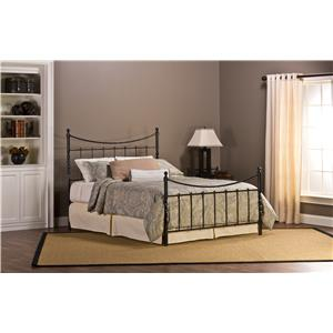 Hillsdale Metal Beds Sebastion Queen Bed Set Without Rails