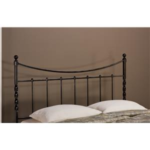 Hillsdale Metal Beds Sebastion Twin Headboard with Rails