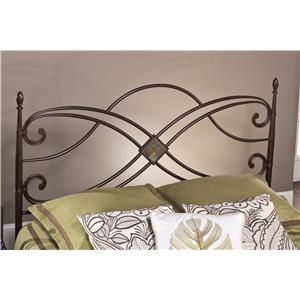 Hillsdale Metal Beds Barcelona King Headboard and Rails