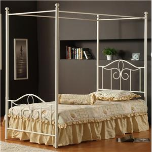 Hillsdale Metal Beds Twin Westfield Canopy Bed