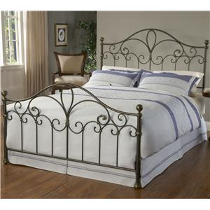 Hillsdale Metal Beds Queen Meade Bed