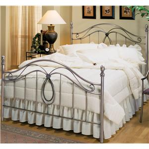 Hillsdale Metal Beds Queen Milano Bed