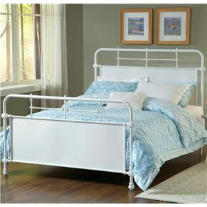 Hillsdale Metal Beds Queen Kensington Bed