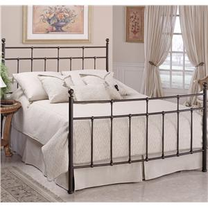 Hillsdale Metal Beds Queen Providence Bed