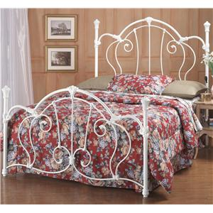 Hillsdale Metal Beds Queen Cherie Bed