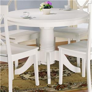 Holland House 1280 Round Pedestal Table