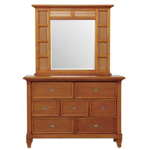 Holland House Belmar Youth Dresser and Mirror