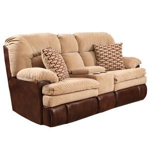 HomeStretch 103 Console Love Seat