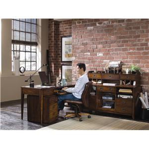 Hooker Furniture Danforth L-Shape Desk Unit
