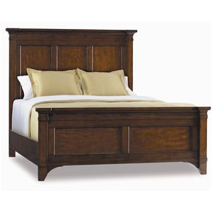 Hooker Furniture Abbott Place Queen Panel Bed