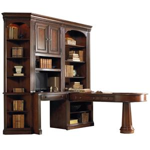 Hooker Furniture European Renaissance II L-Shaped Office Wall