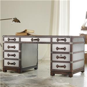 """Hooker Furniture Mélange 60"""" Bondurant Desk"""