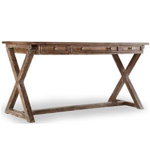 Hooker Furniture Mélange Bennett X-Base Writing Desk