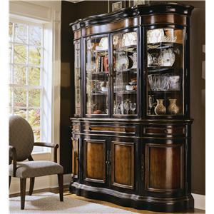 Hooker Furniture Preston Ridge Buffet and Hutch