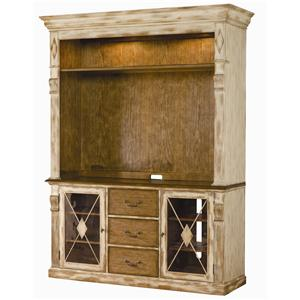 Hooker Furniture Sanctuary Console/Hutch Combination