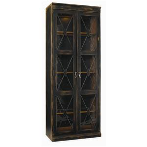 Hooker Furniture Sanctuary Two Door Thin Display Cabinet