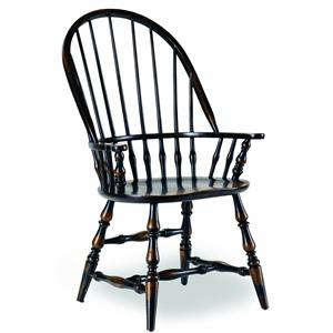 Hooker Furniture Sanctuary Windsor Arm Chair