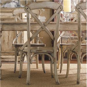 Hooker Furniture Wakefield X Back Side Chair