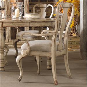 Hooker Furniture Wakefield Splatback Arm Chair