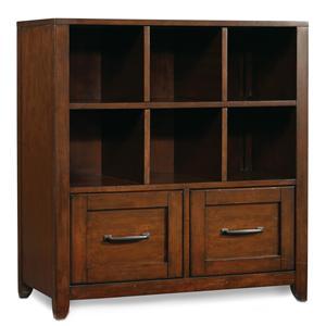 Hooker Furniture Wendover Utility Bookcase Pedestal