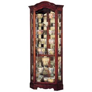 Howard Miller Cabinets Jamestown Collectors Cabinet