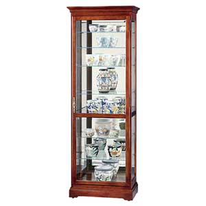 Howard Miller Cabinets Chesterfield Collectors Cabinet