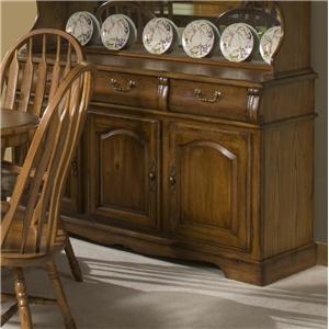 """Intercon Classic Oak 3-Door, 3-Drawer 60"""" Buffet"""