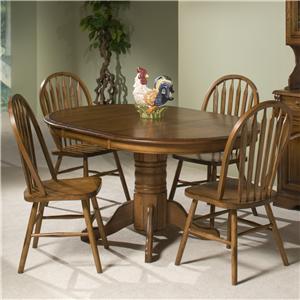 Intercon Classic Oak Five Piece Dining Set